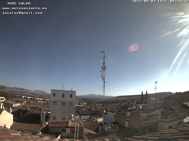 El cielo de Logroño (desde la web de Jose Calvo)